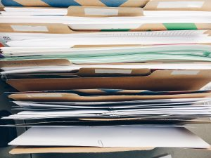 Folders. Organization